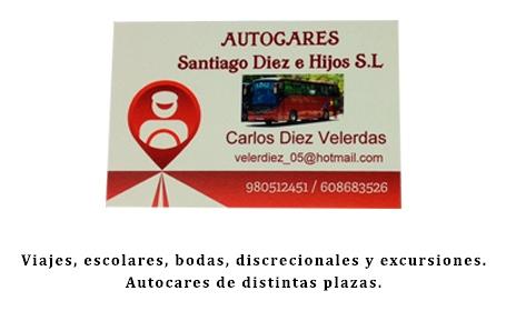 Autocares Santiago Diez e Hijos S.L.